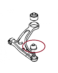 Cover, Ball Joint Front Suspension (Genuine) EVO7-9