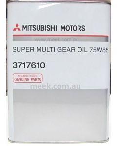Gearbox Oil Supermulti 75W85 6M/T (Genuine) - 4L
