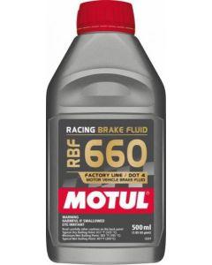 Motul RBF660 Brake Fluid DOT4 - 500ml Bottle