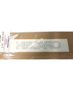 Decal, Recaro (Genuine)